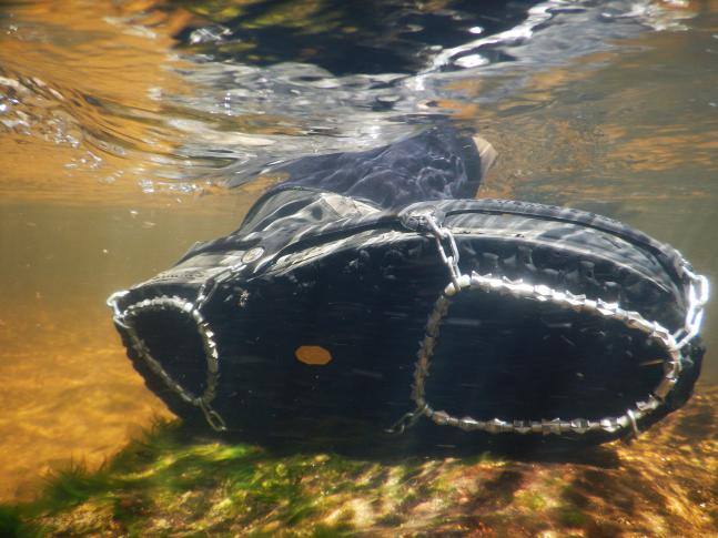 Gear Review: STREAMtrekkers Removable Wading Treads