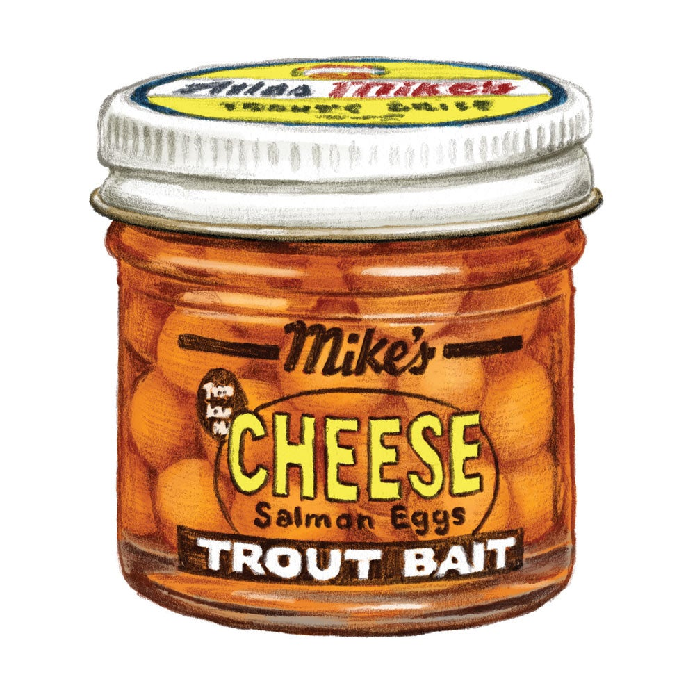 Mike's Cheese Salmon Eggs