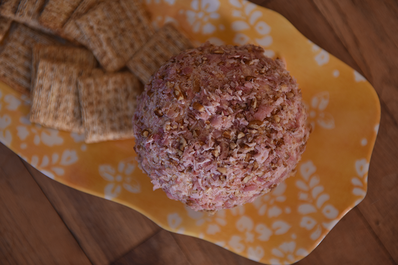 Recipe: Smoked Pheasant-Pecan Cheese Ball