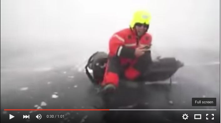 Caught On The Ice During A Sudden Brutal Storm