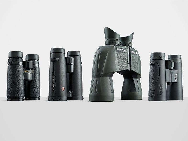binocular rifle scope optics field test