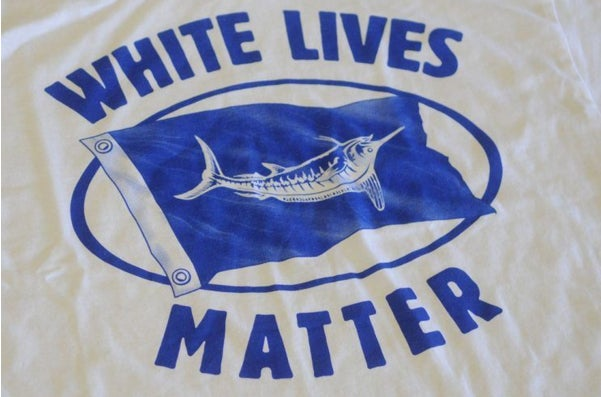 """""""White Lives Matter"""" Fishing Shirt Sparks Controversy"""