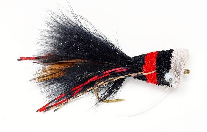 spun hair fly, best bass flies.
