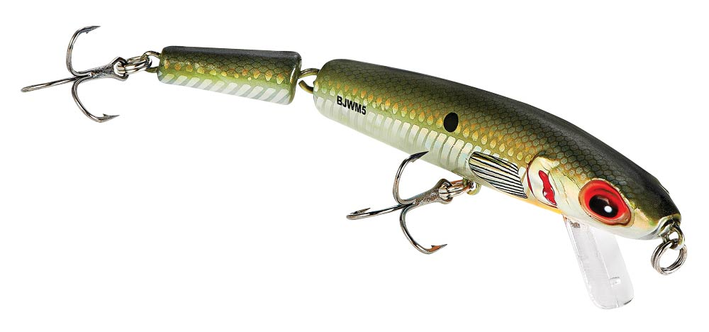 Bomber Jointed Wake Minnow