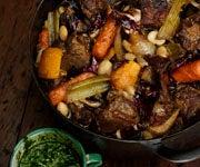 Camp Food: Wild Boar Stew With Salsa Verde