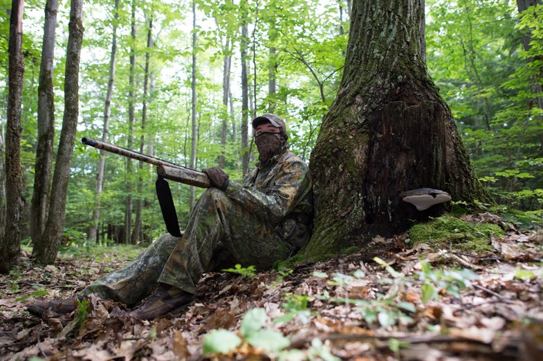 Hunter Wallis Turkey Hunting