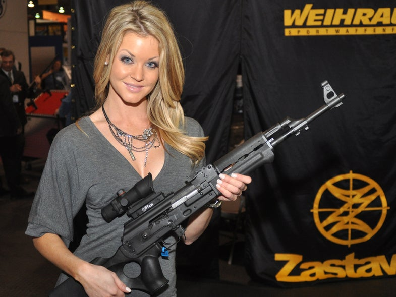 The 2010 SHOT Show Booth Babe Roundup