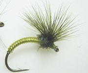 """Step-by-Step Photo Instructions on How to Tie """"Para-Hackle Emerger"""" Fly"""