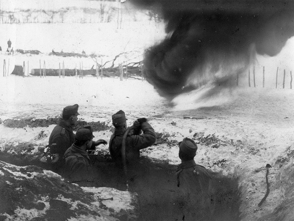 WWI flamethrower