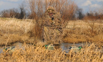 Duck Hunting: How to Use a Gillie Suit Where There's No Place to Hide