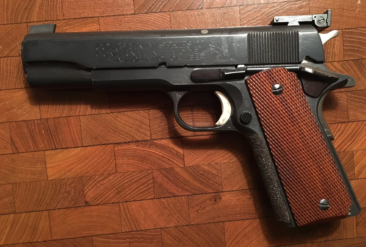 Gunfight Friday: 1911 Match Guns