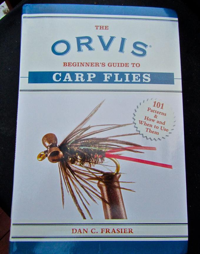 fly fish, carp, fishing book