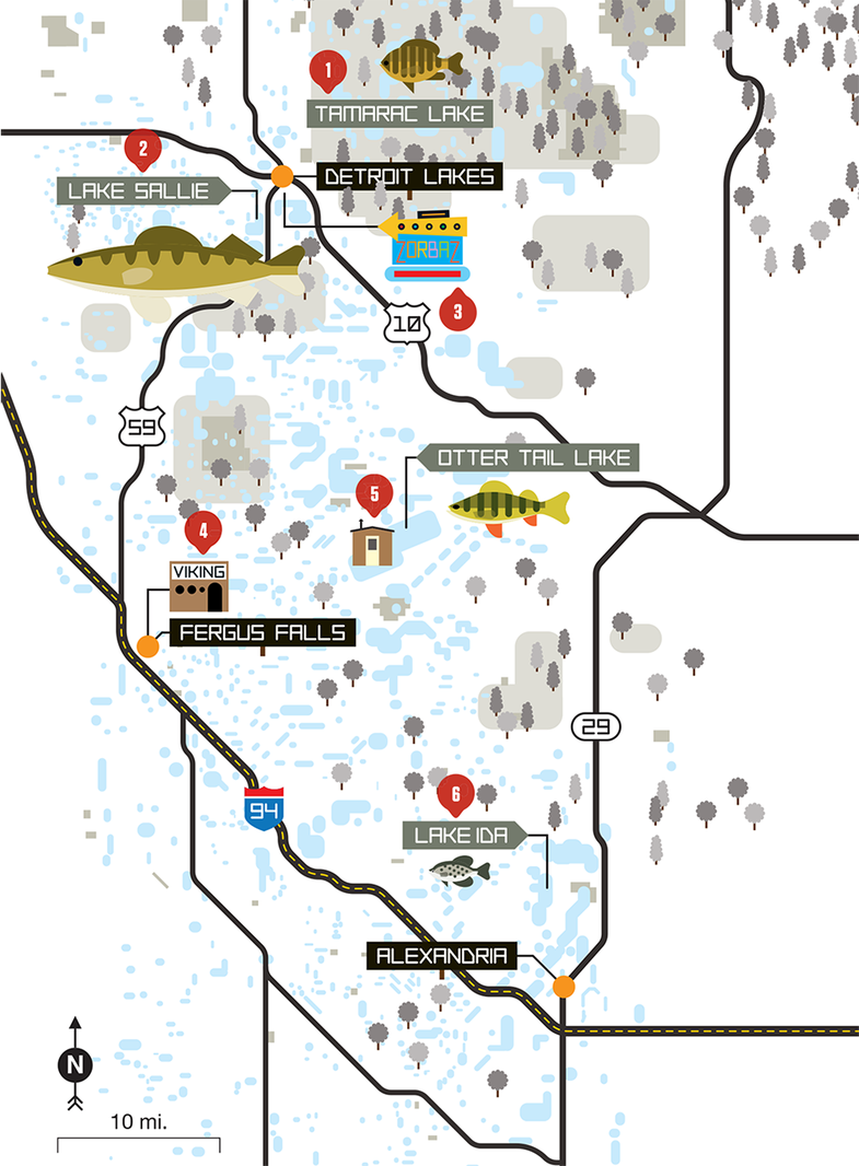 A Three-Town Road Trip for Red-Hot Ice Fishing