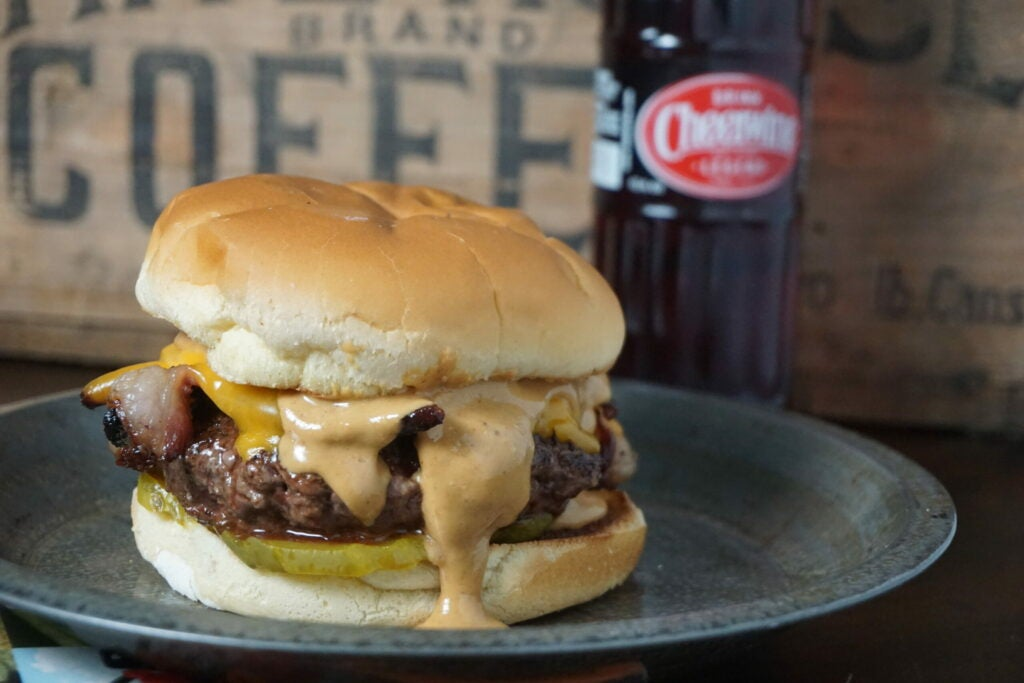 field and stream, david draper, wild chef, wild game, venison, burgers, grilling wild game, grilling burgers, venison burgers, poutine, pimiento cheese, in-n-out recipe, patty melt, onion burger