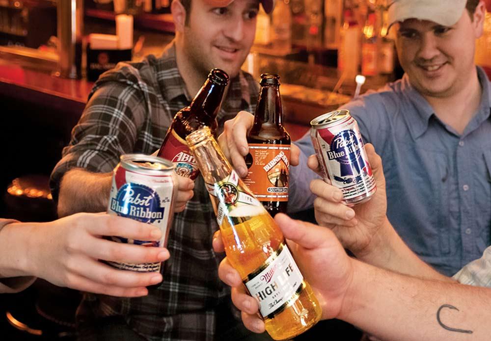 beer summer pbr miller abita ale