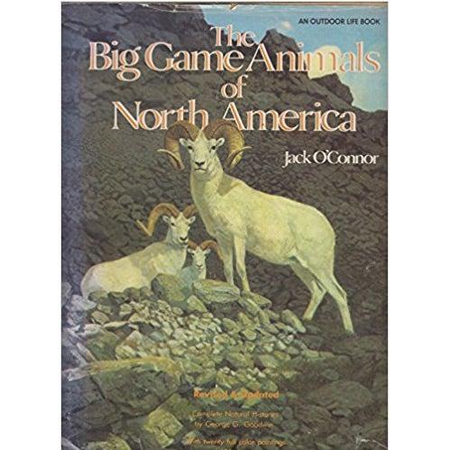 big game animals north america book jack oconnor
