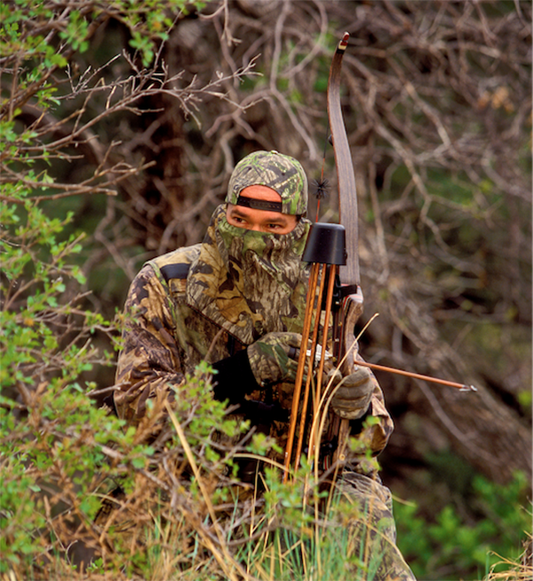 bowhunting, traditional bow, long bow, recurve bow