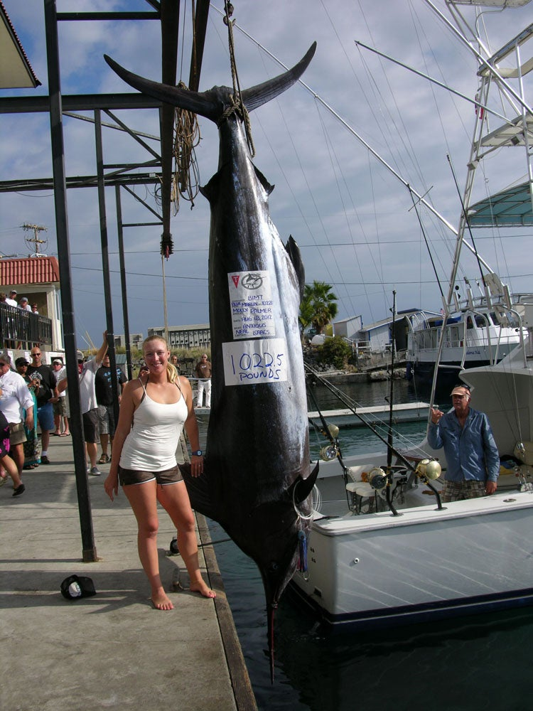 Woman Catches 1,000-Pound Marlin, Could Have Set a World Record