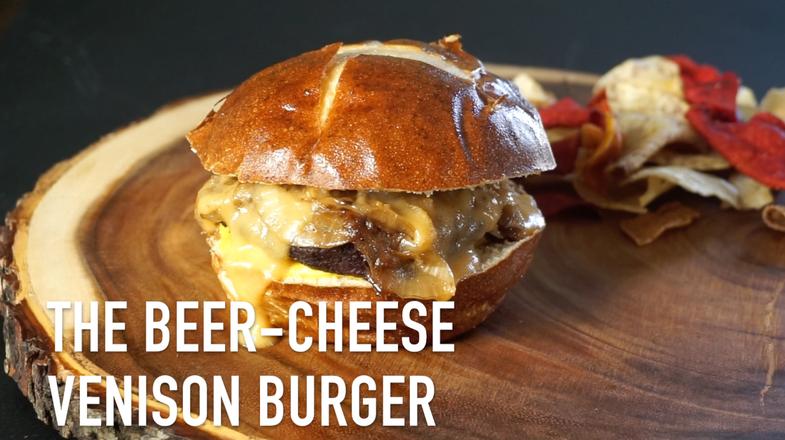 beer cheese burger,