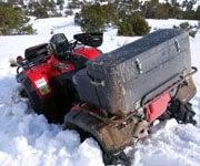 How to Run an ATV in Deep Snow