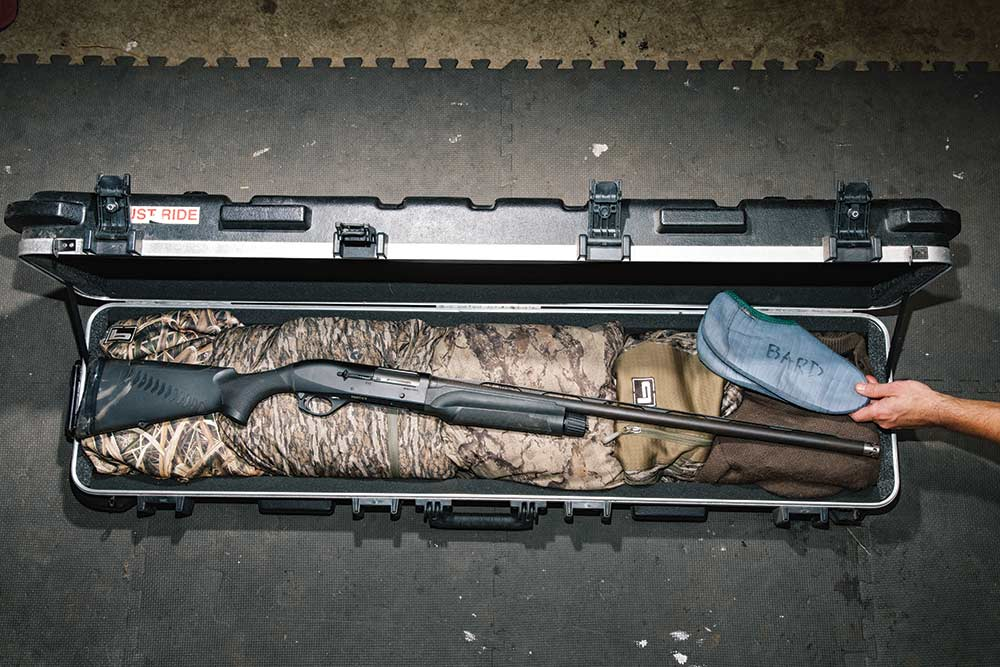 Packing a gun case for travel hunting