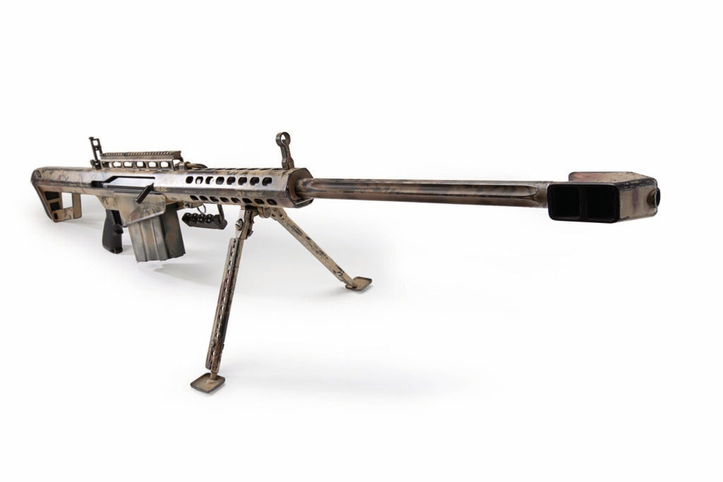 The Barrett M82A1 on a white background.
