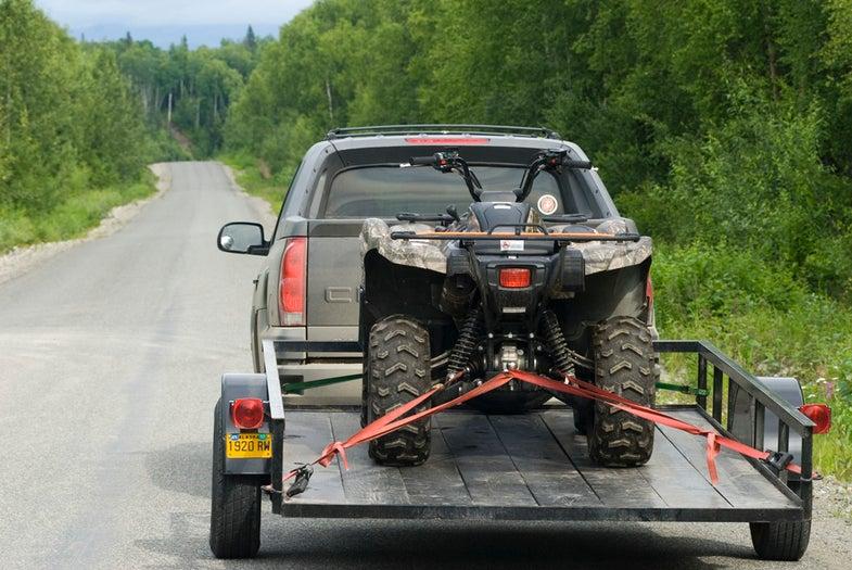 Trailer Tips for a New ATV Owner