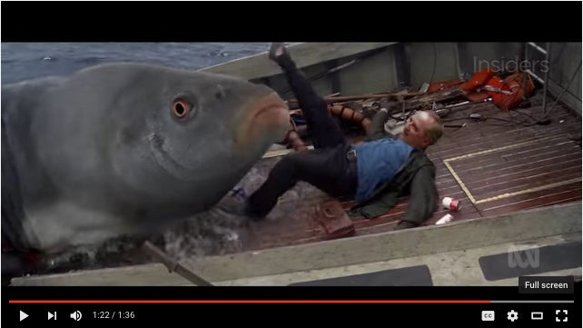 """Herpes Carp And The """"Jaws"""" Mash-Up Of The Century"""