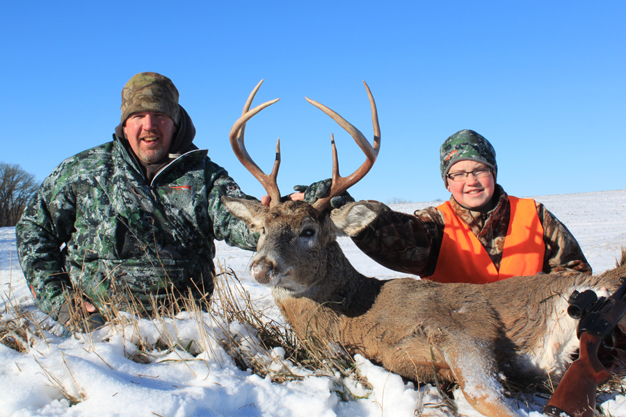 Cold Weather Keeps Late Rut Popping