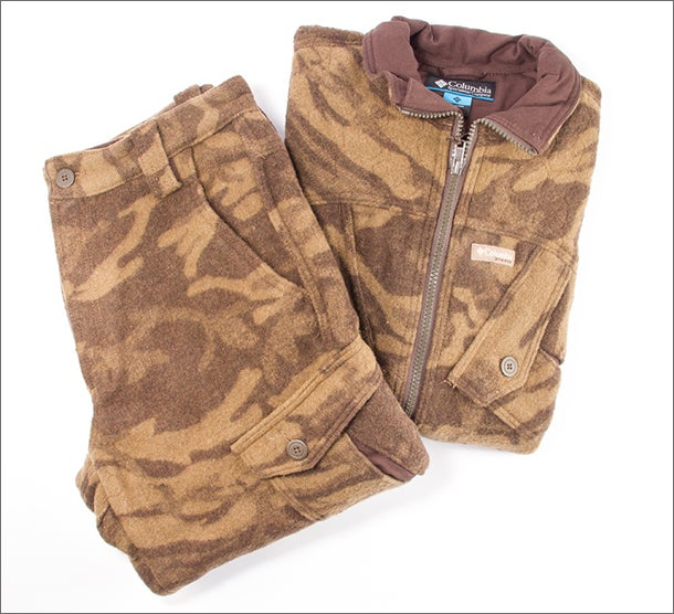 Best Hunting Outerwear of 2013: Columbia Expedition Ridge Wool Jacket and Pant