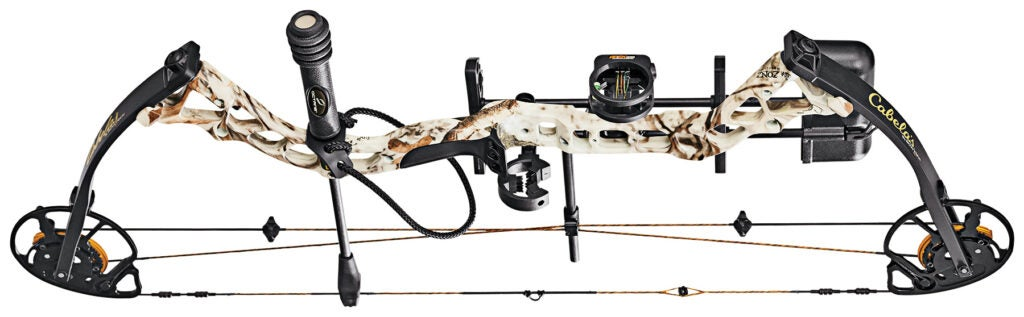 Cabela's Influence, new bows,