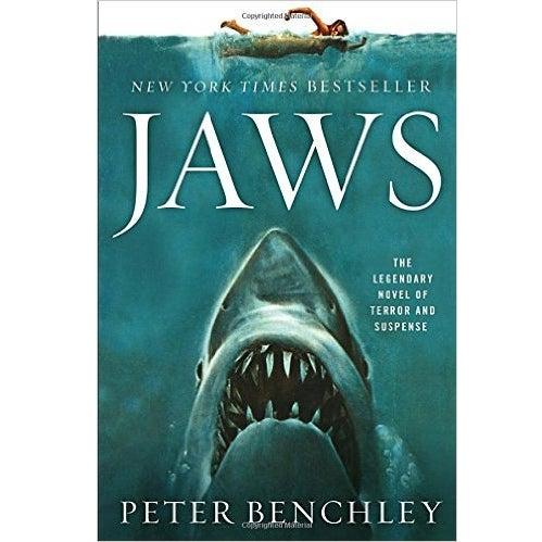 jaws shark book peter benchley
