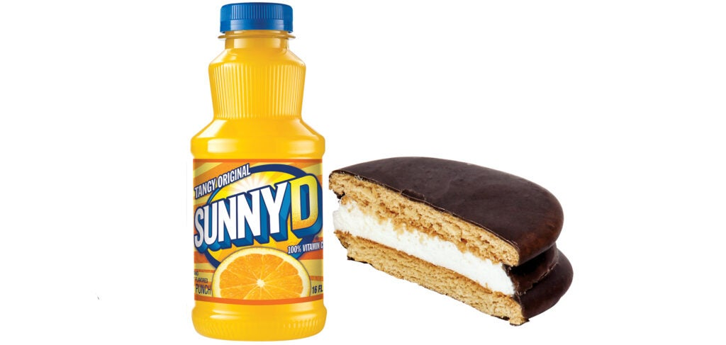 Sunny D and a Moon Pie
