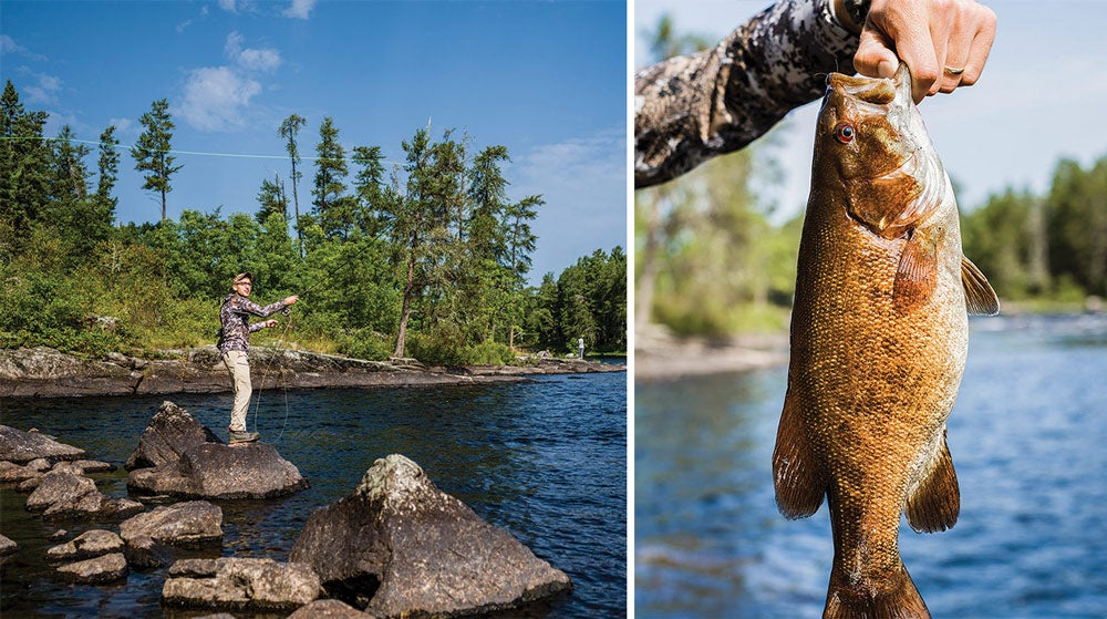 JR Sullivan fly fishing Boundary Waters Canoe Area Wilderness