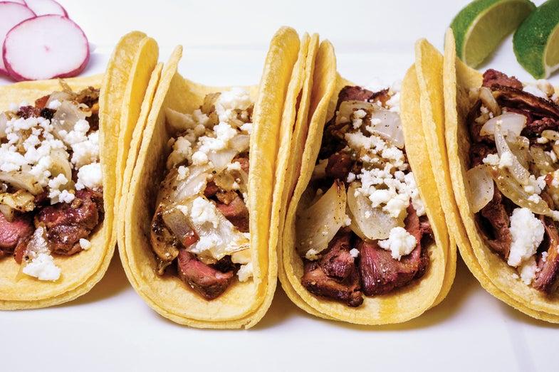 Duck Tacos.