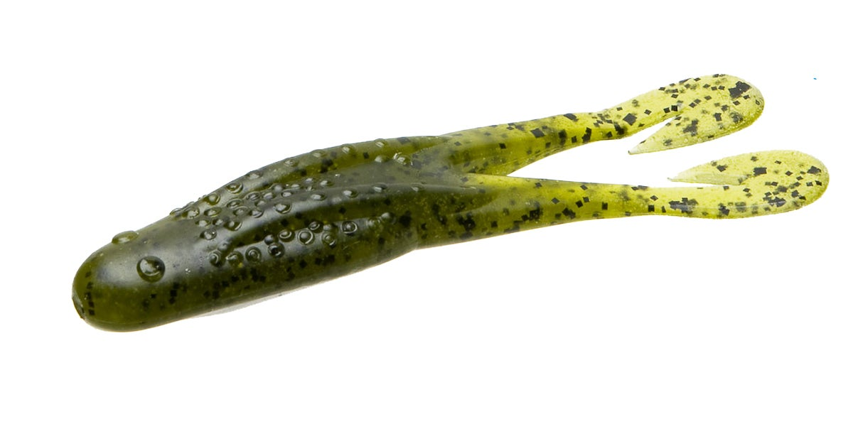 Topwater Soft Plastic Toad Lures Catch Summer Largemouth Bass in Matted Grass and Lily Pads