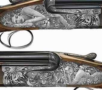 Dream Gun Engravings