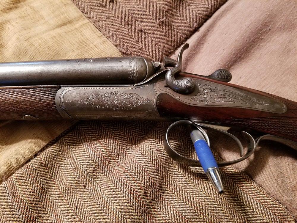 Steyr shotgun
