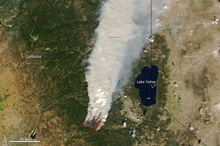 California Wildfire is Now Bigger Than Atlanta