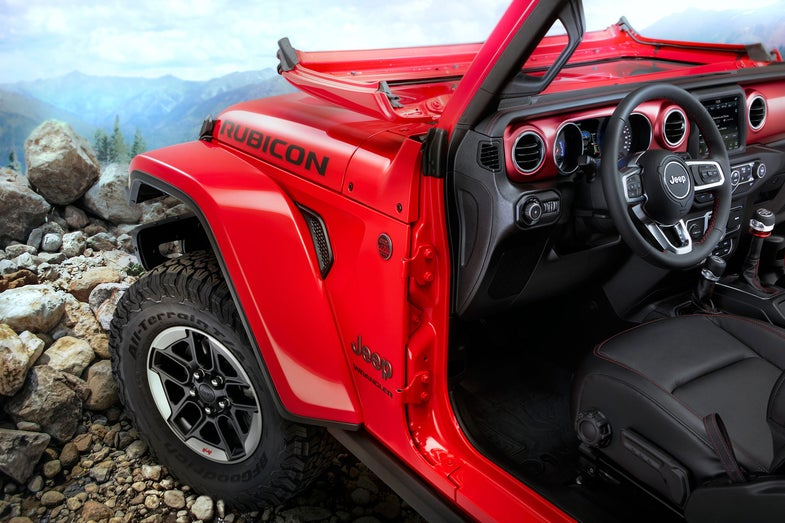 Jeep Wrangler Rubicon, Arizona, 2018 model