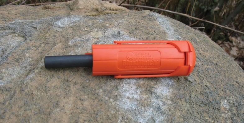 BlastMatch Fire Starter, survival tool