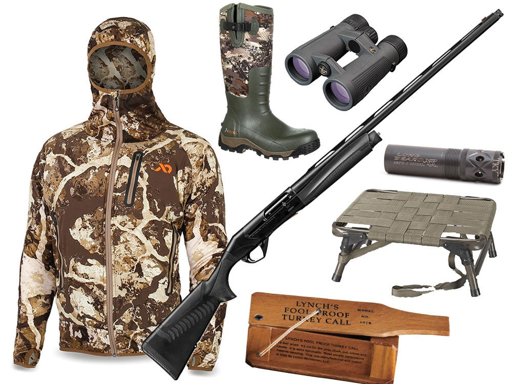 collage of turkey hunting gifts