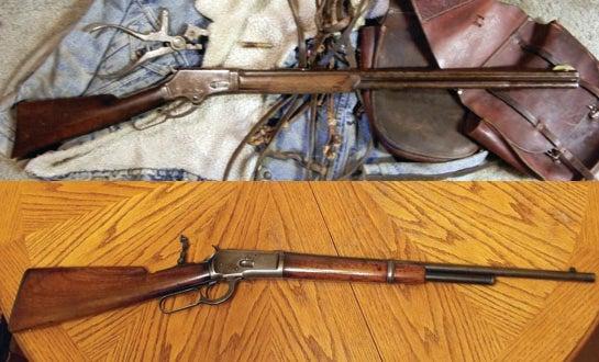 Gunfight Friday: Old Lever Guns