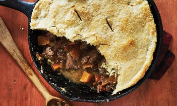 Wild Duck Recipe: Date and Rutabaga Pot Pie
