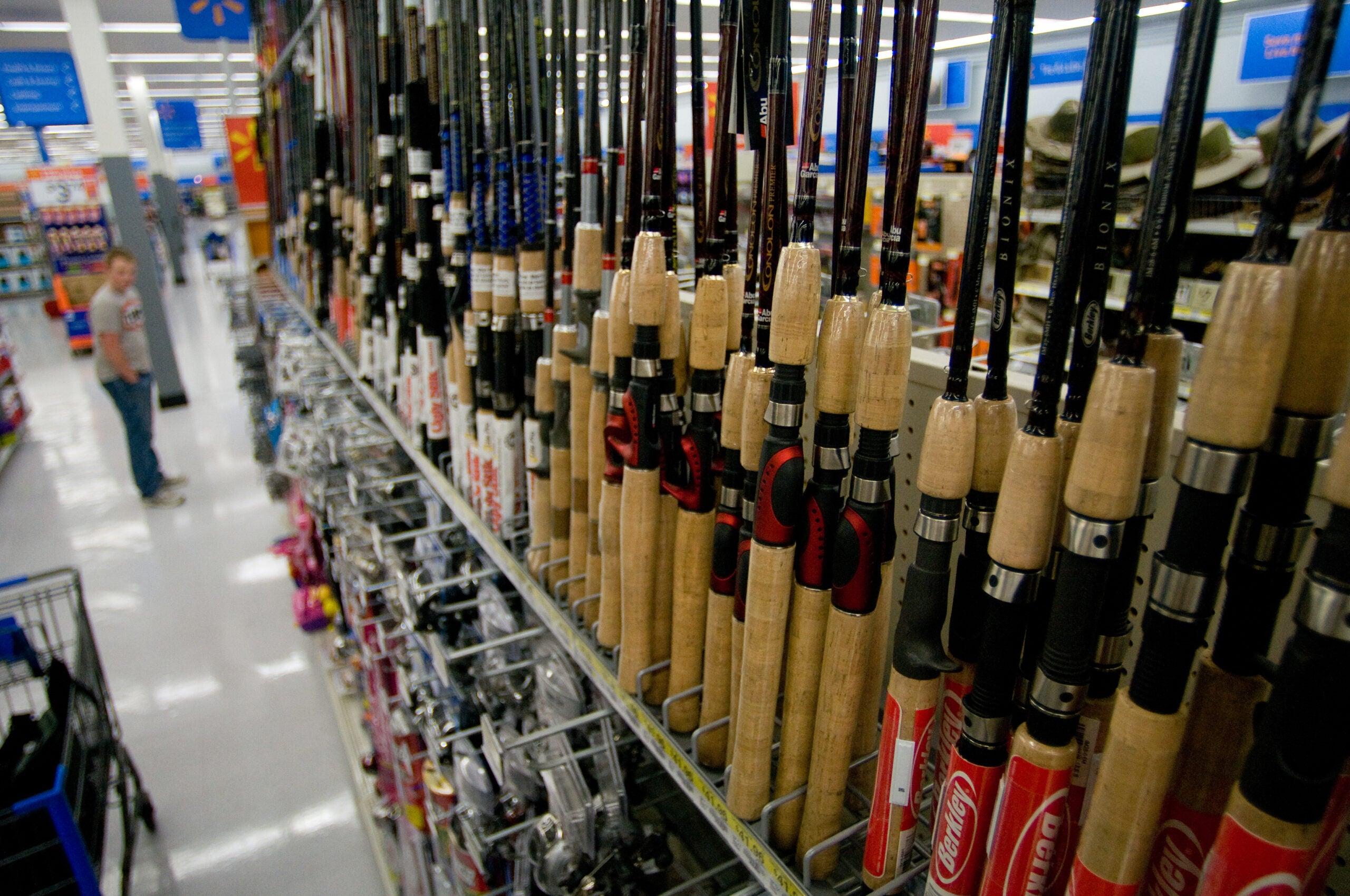 Walmart fishing gear