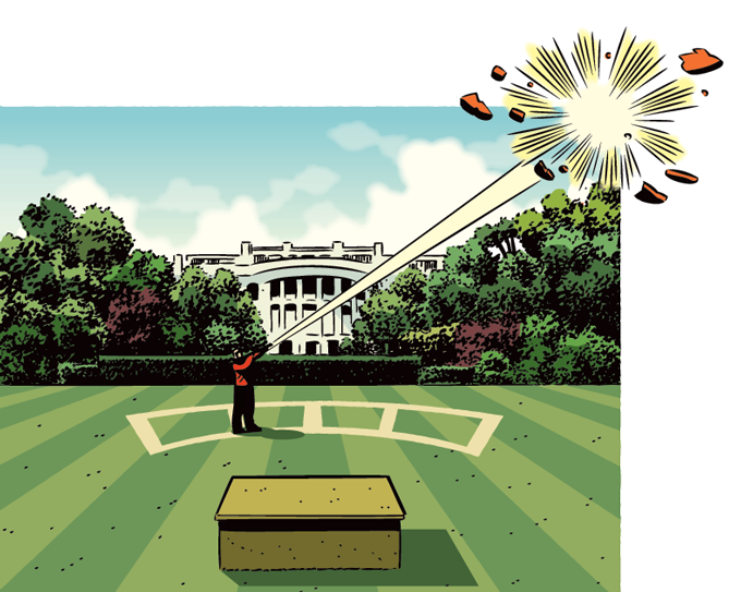 Ask Petzal: What Dave Would Do As President