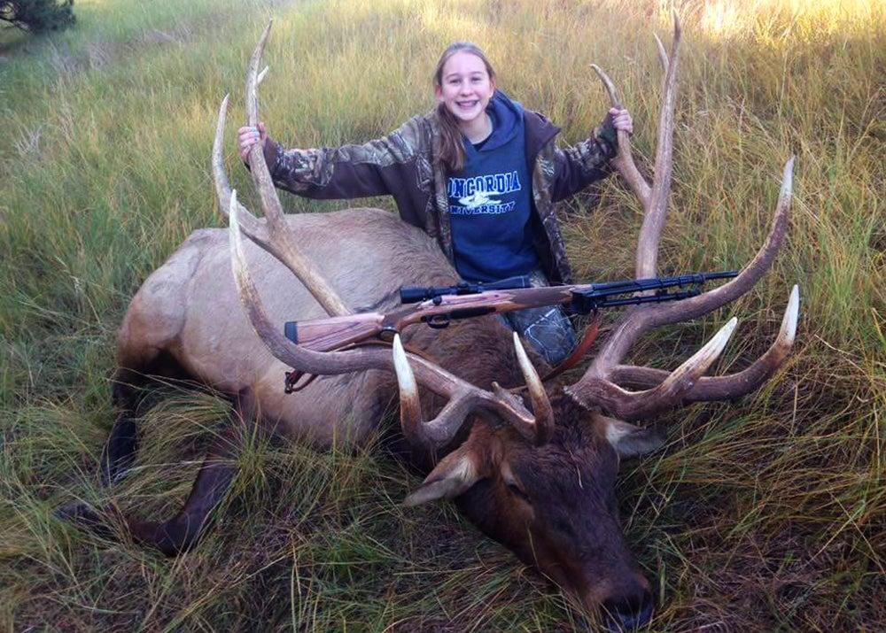 Nebraska state record elk