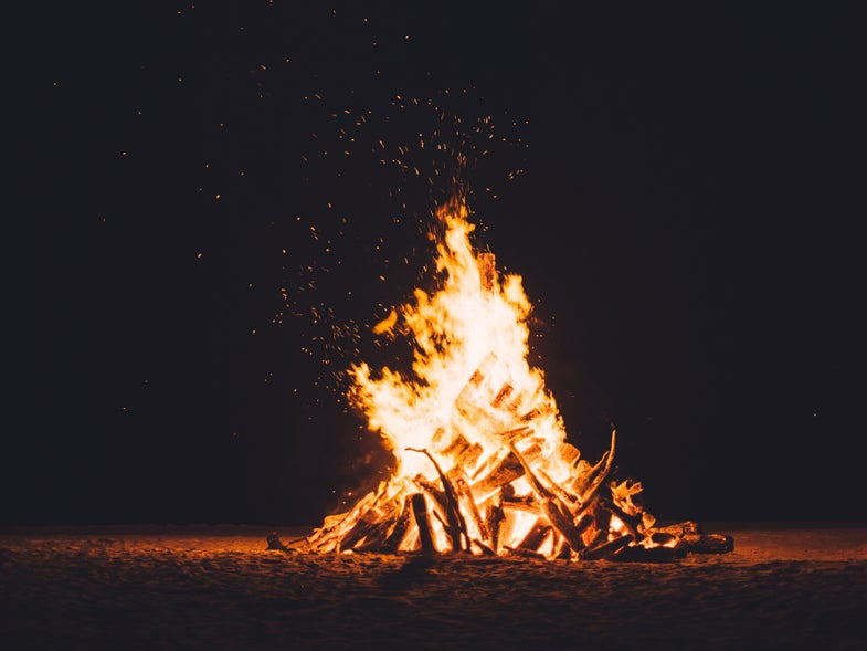 obsessed with fire