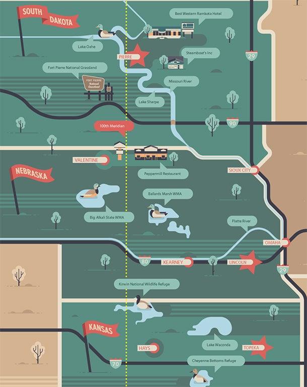 Great Plains Road Trip: 500 Miles of Ducks