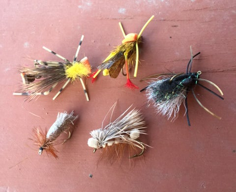 My Favorite Grasshopper Fly Patterns